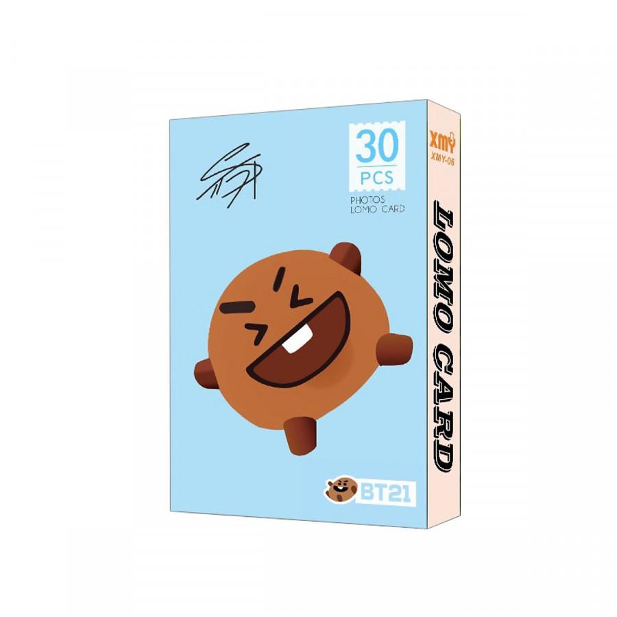 Lomo bt21 ảnh bts card Shooky - 1728294 , 2634266774672 , 62_13280910 , 55000 , Lomo-bt21-anh-bts-card-Shooky-62_13280910 , tiki.vn , Lomo bt21 ảnh bts card Shooky