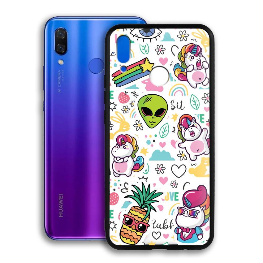 Ốp lưng viền TPU cho điện thoại Huawei Nova 3i - 02091 0525 LOL03 - Hàng Chính Hãng
