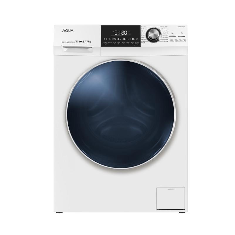 Máy giặt sấy AQUA AQD-DH1050C W, giặt 10.5kg, sấy 7kg, Inverter ( HÀNG CHÍNH HÃNG) - 18464865 , 6803117577823 , 62_15278750 , 18350000 , May-giat-say-AQUA-AQD-DH1050C-W-giat-10.5kg-say-7kg-Inverter-HANG-CHINH-HANG-62_15278750 , tiki.vn , Máy giặt sấy AQUA AQD-DH1050C W, giặt 10.5kg, sấy 7kg, Inverter ( HÀNG CHÍNH HÃNG)