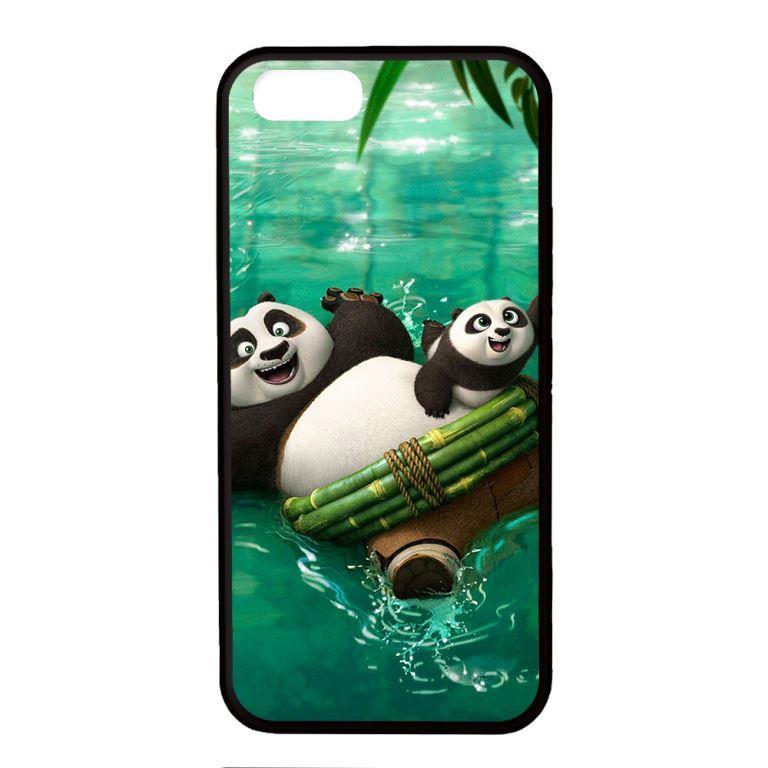 Ốp lưng dành cho điện thoại Iphone 5s PANDA Bơi