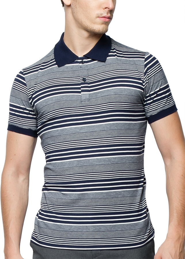 Áo Thun Polo Nam F2 Fashion F2-POM-T192 - Xanh Đen