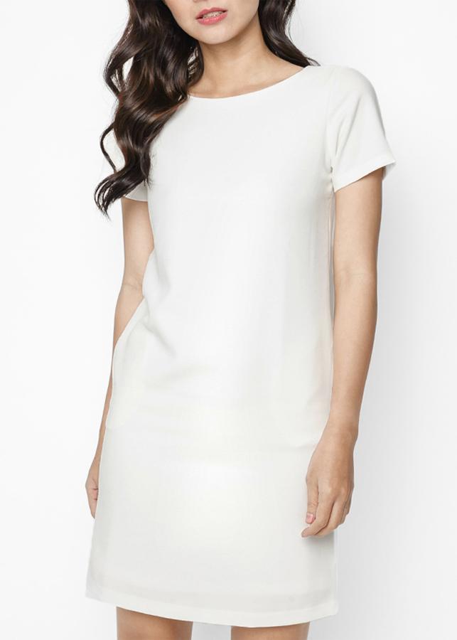 Đầm Nữ Suông Tay Loe Mint Basic - Trắng