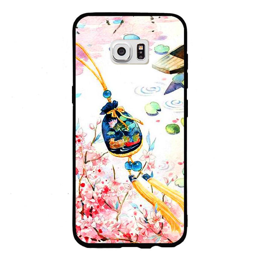 Ốp lưng nhựa cứng viền dẻo TPU cho điện thoại Samsung Galaxy S7 - Diên Hi Công Lược 03