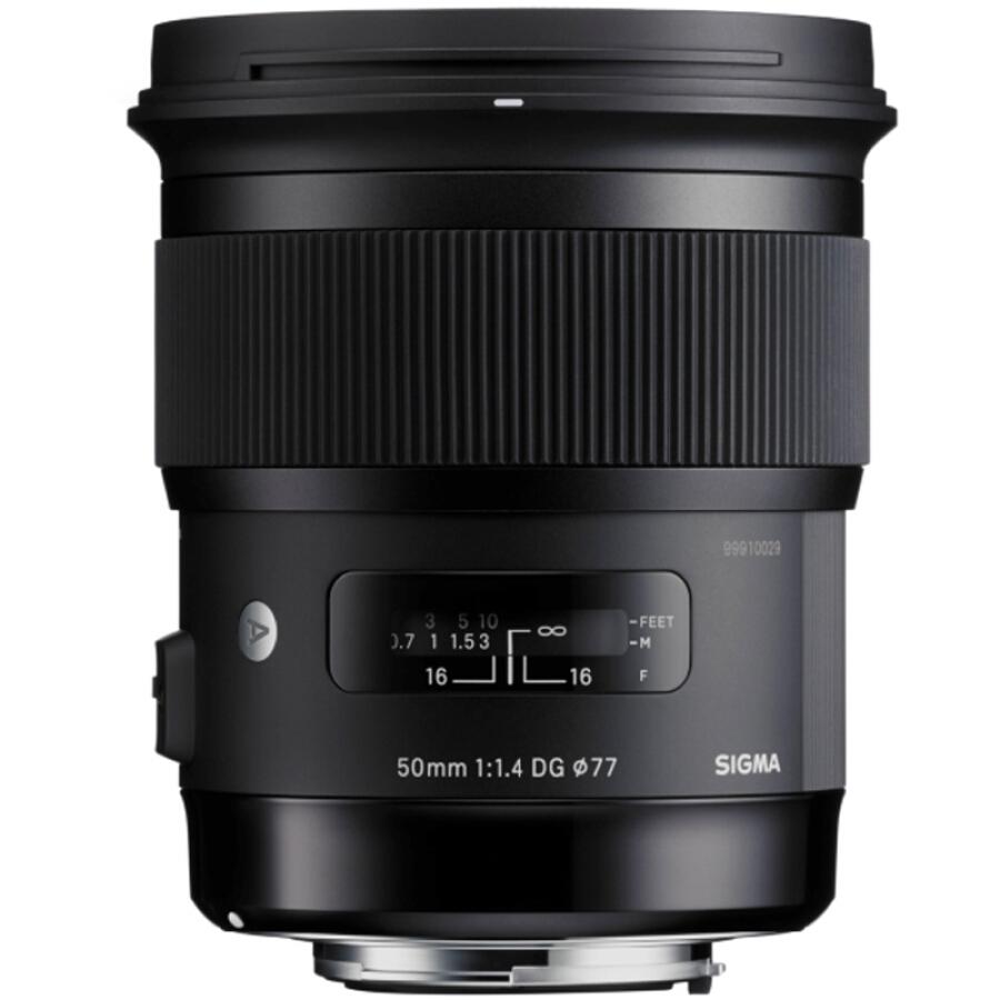 Ống Kính Sigma - 50mm, F1.4 DG HSM (Canon) - Hàng nhập khẩu