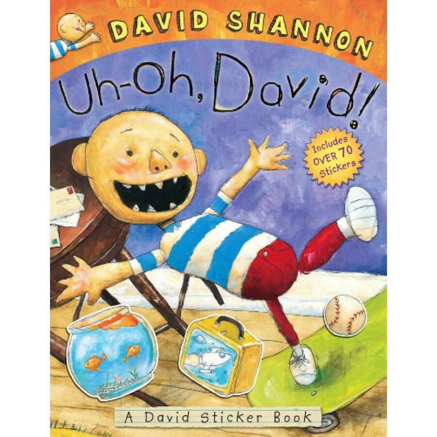 Uh-oh David! Sticker Book