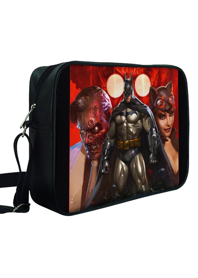 Túi Đeo Chéo Hộp Unisex In Hình Batman  Gangster - TCFF311