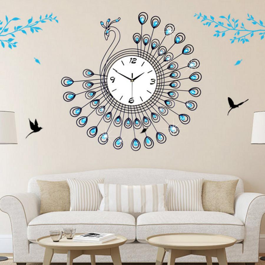 Đồng hồ decor chú chim công xanh (Decor -o3) - 4823824 , 2752004598233 , 62_15344434 , 850000 , Dong-ho-decor-chu-chim-cong-xanh-Decor-o3-62_15344434 , tiki.vn , Đồng hồ decor chú chim công xanh (Decor -o3)
