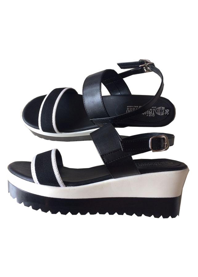 Giày sandal nữ đế bánh mì đen độn cá tính SD02 - 2127410 , 4028055329477 , 62_13552529 , 399000 , Giay-sandal-nu-de-banh-mi-den-don-ca-tinh-SD02-62_13552529 , tiki.vn , Giày sandal nữ đế bánh mì đen độn cá tính SD02