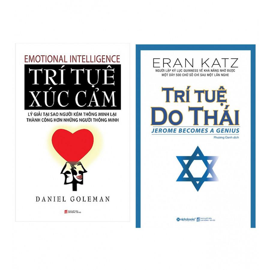 Combo  Trí Tuệ Do Thái (Tái Bản 2018) + Trí Tuệ Xúc Cảm (Tái Bản 2017)