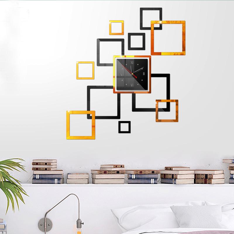 Đồng hồ treo tường 3D tự lắp ráp phong cách Châu Âu hiện đại  DH01 hình vuông - 2202218 , 5086085322652 , 62_14134898 , 400000 , Dong-ho-treo-tuong-3D-tu-lap-rap-phong-cach-Chau-Au-hien-dai-DH01-hinh-vuong-62_14134898 , tiki.vn , Đồng hồ treo tường 3D tự lắp ráp phong cách Châu Âu hiện đại  DH01 hình vuông