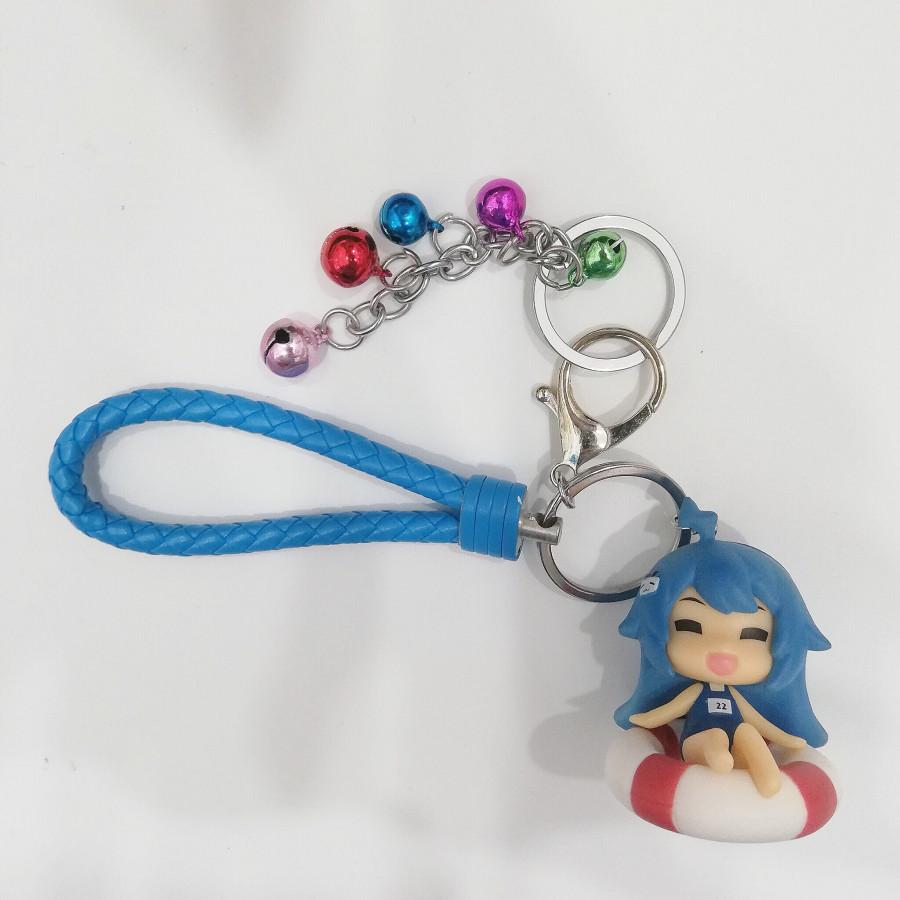 Móc khóa mô hình búp bê tóc xanh đi bơi phối dây da xanh đậm kèm lục lac đáng yêu - 1717557 , 9246331303521 , 62_11927799 , 200000 , Moc-khoa-mo-hinh-bup-be-toc-xanh-di-boi-phoi-day-da-xanh-dam-kem-luc-lac-dang-yeu-62_11927799 , tiki.vn , Móc khóa mô hình búp bê tóc xanh đi bơi phối dây da xanh đậm kèm lục lac đáng yêu