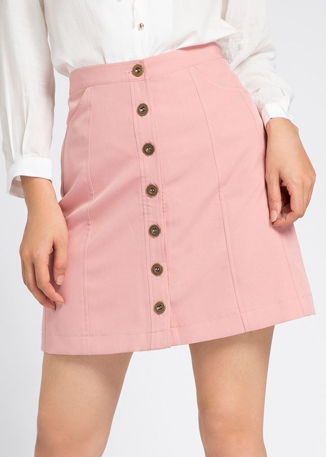 1419474787529 - Váy Ngắn Sweet Miniskirt Hity SKI027 (Hồng Anh Đào Sakura)