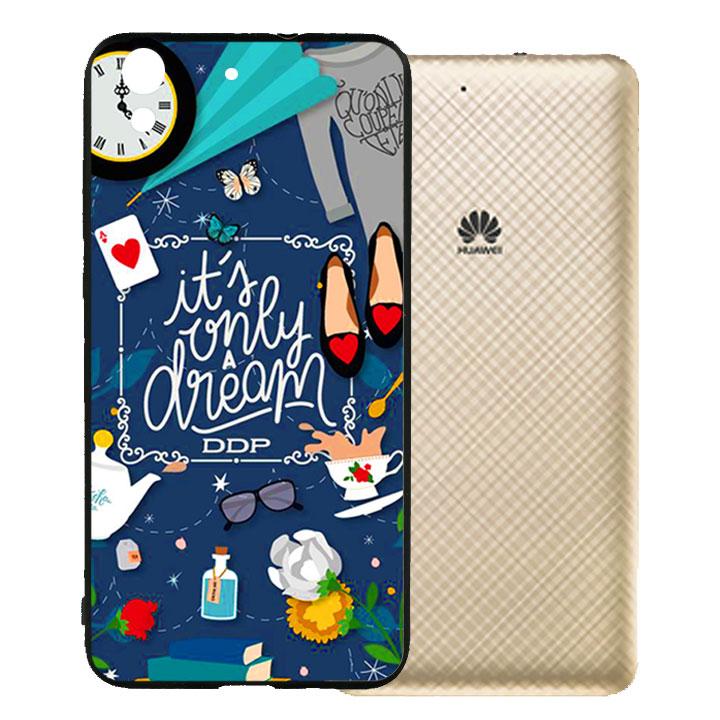 Ốp lưng viền TPU cho Huawei Y62 - Dream Girl 02
