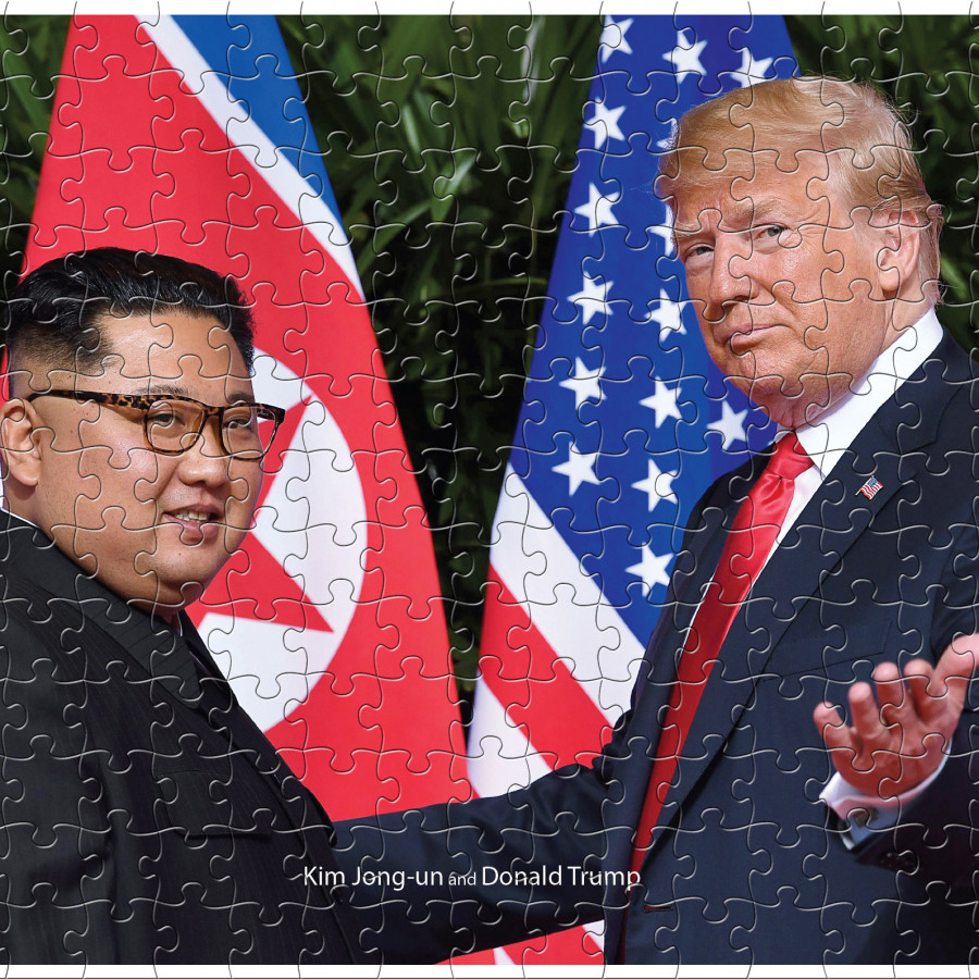 Tranh ghép hình thần tượng Donald Trump and Kim Jong-un - 1604220 , 7511785409061 , 62_10784774 , 240000 , Tranh-ghep-hinh-than-tuong-Donald-Trump-and-Kim-Jong-un-62_10784774 , tiki.vn , Tranh ghép hình thần tượng Donald Trump and Kim Jong-un