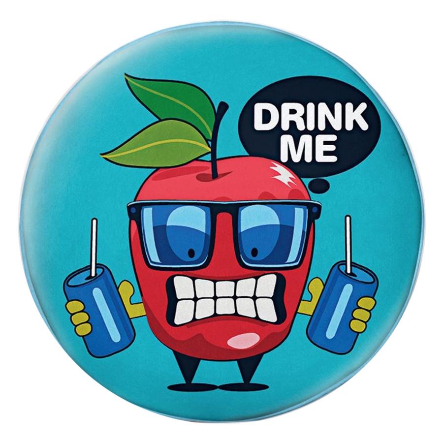Gối Ôm Tròn Quả Táo Đỏ Drink Me - GOFO001
