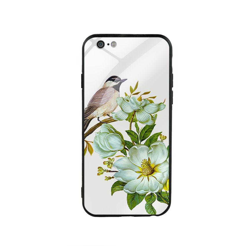 Ốp lưng kính cường lực cho điện thoại Iphone 6/6s - Spring 03