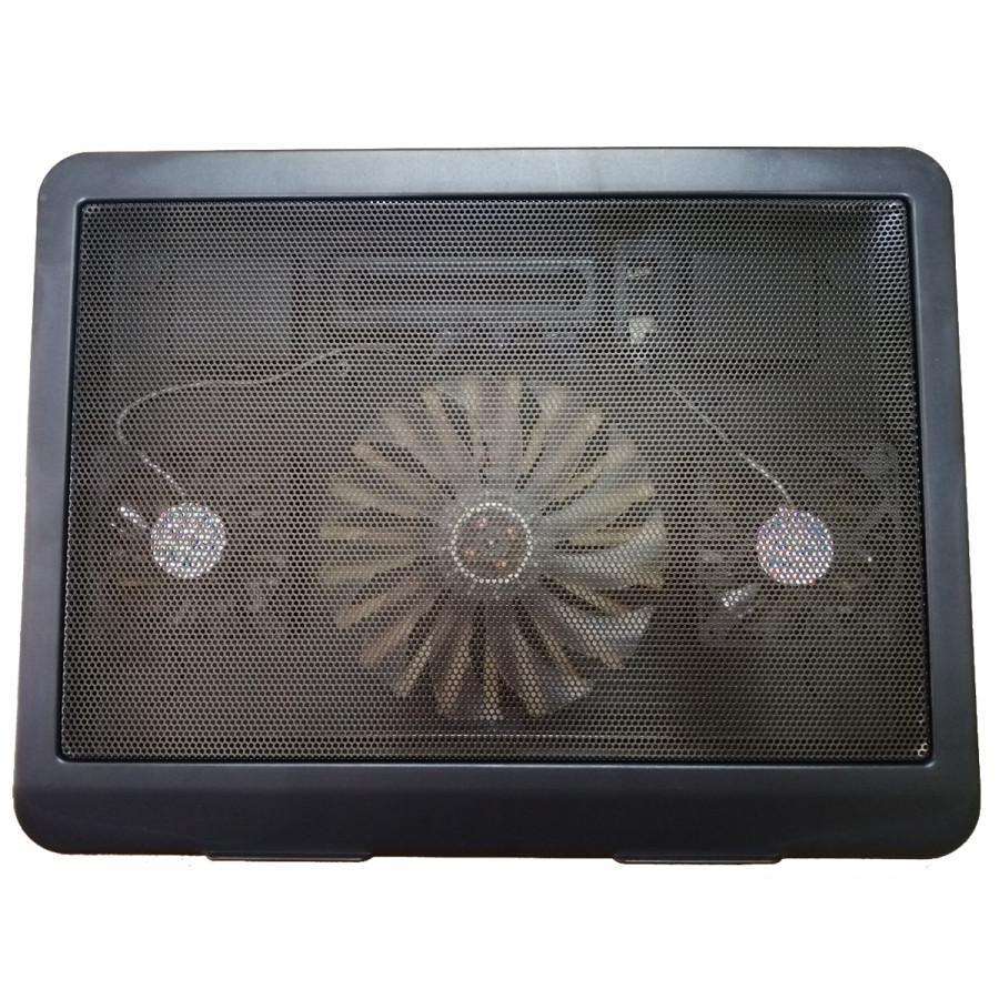 Quạt Tản Nhiệt Laptop C3 3 Quạt Tốc Độ Cao, 2 Cổng USB