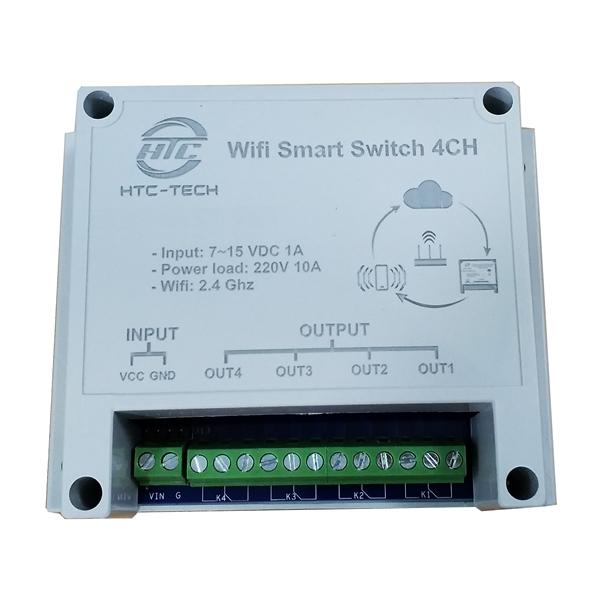 HTC_TECH Mạch điều khiển và giám sát 4 thiết bị bằng internet - BXU - 1694909 , 8105129956961 , 62_11773984 , 320000 , HTC_TECH-Mach-dieu-khien-va-giam-sat-4-thiet-bi-bang-internet-BXU-62_11773984 , tiki.vn , HTC_TECH Mạch điều khiển và giám sát 4 thiết bị bằng internet - BXU