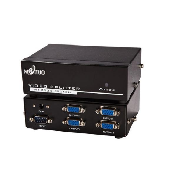Bộ chia màn hình VGA 1 ra 4- 350Mhz (MT3504)