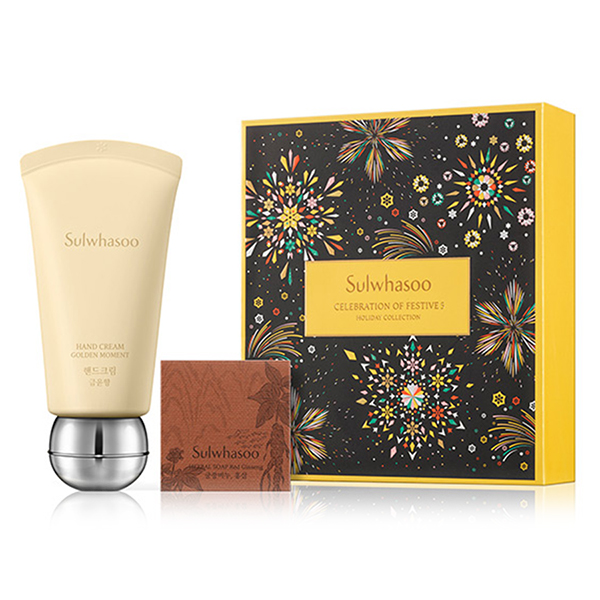 Sulwhasoo Hand Cream Golden Moment holiday special set