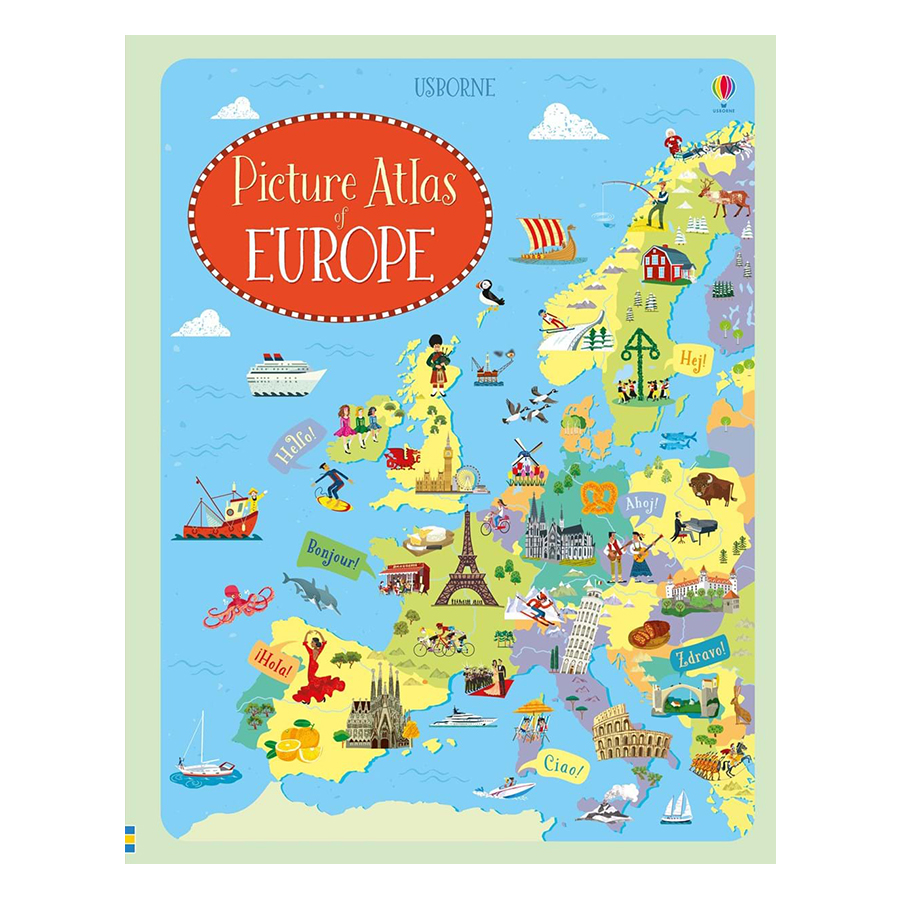 Usborne Geography: Picture Atlas of Europe