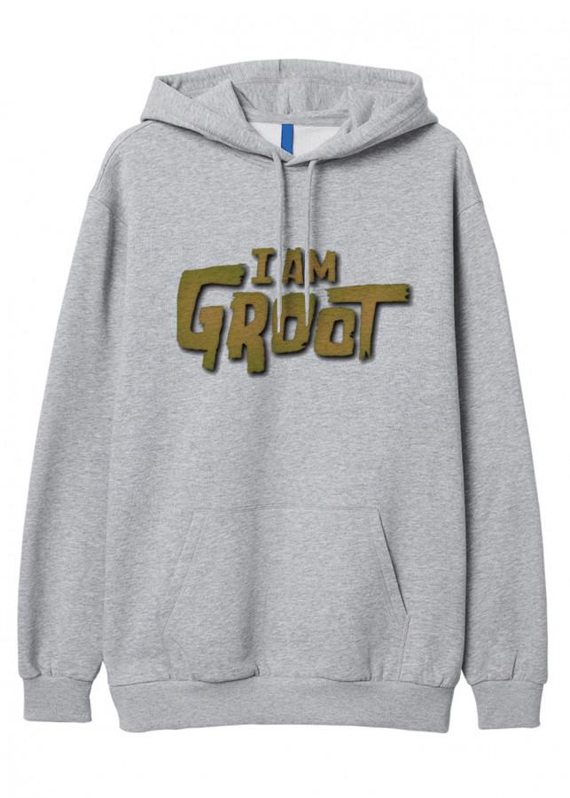 Mẫu Hoodie I Am Groot