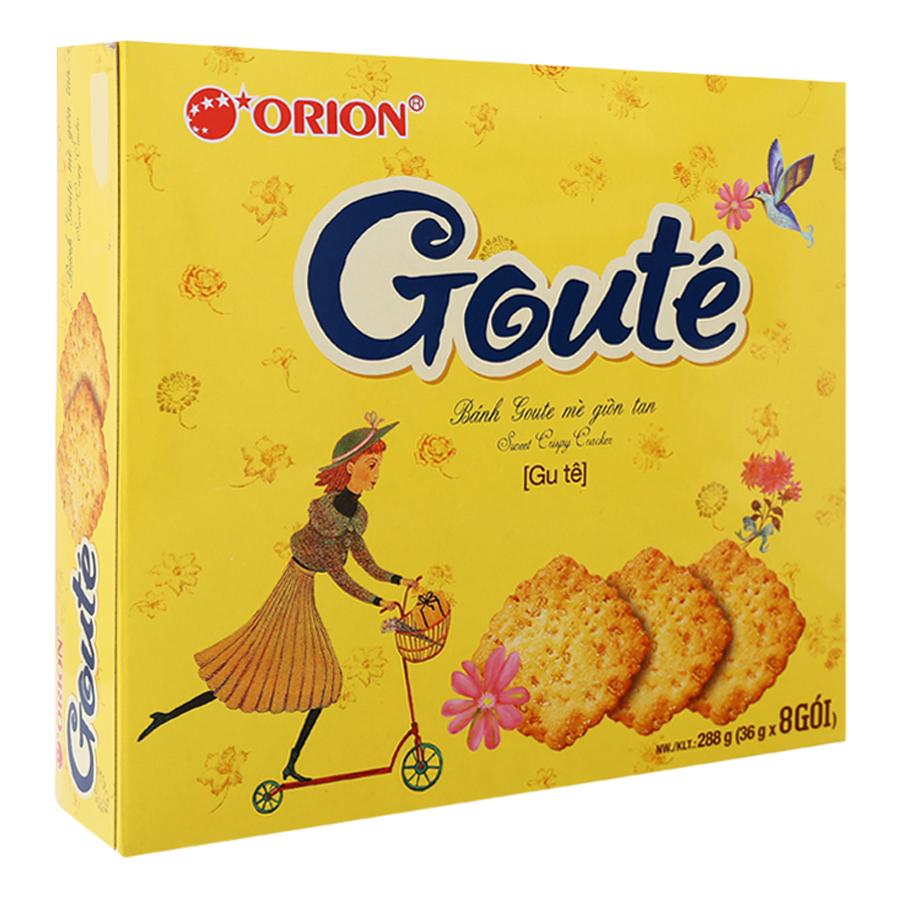 Bánh Quy Mè Gouté (36g x 8 Gói) - 1056145 , 8936036024135 , 62_3492311 , 55000 , Banh-Quy-Me-Goute-36g-x-8-Goi-62_3492311 , tiki.vn , Bánh Quy Mè Gouté (36g x 8 Gói)