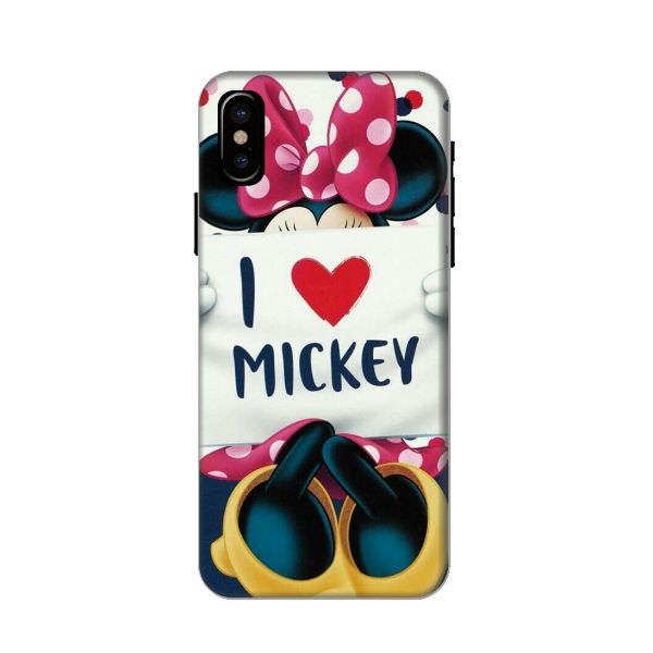 Ốp Lưng Dành Cho Điện Thoại iPhone XS - I Love Mickey