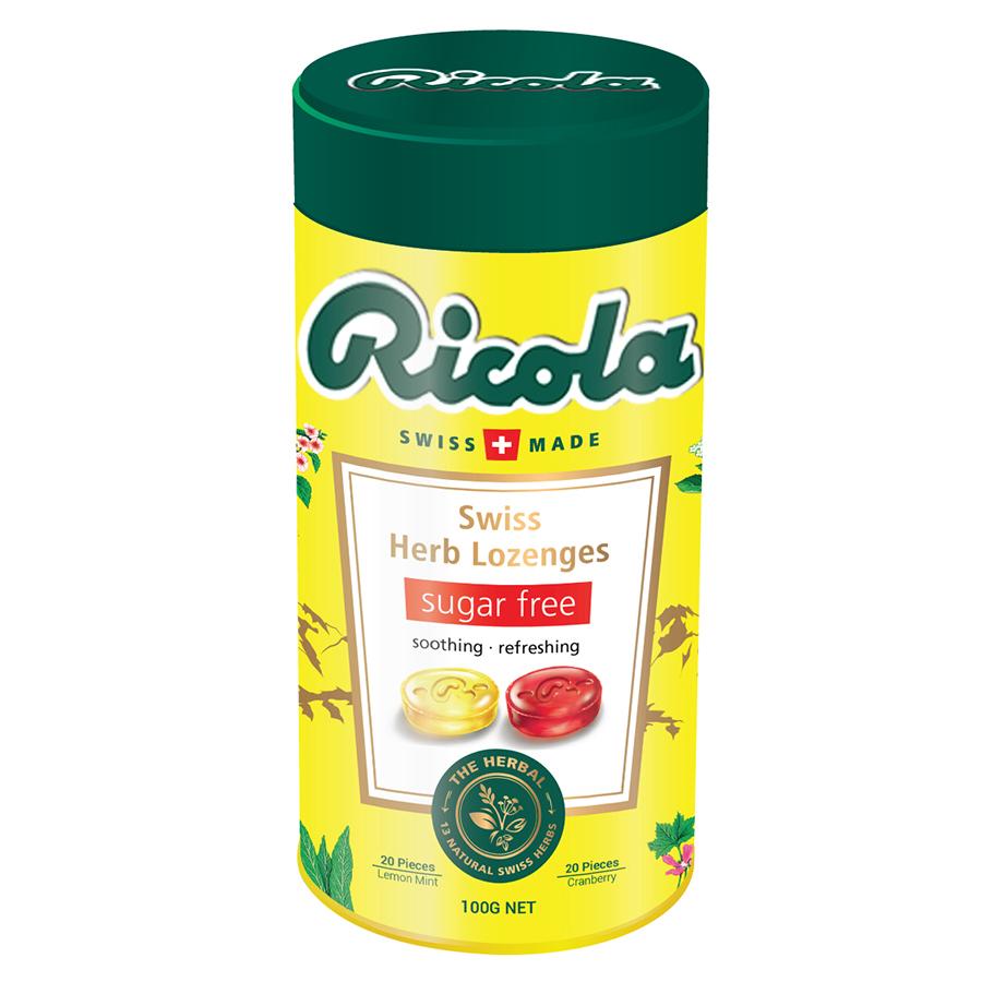 Hộp Quà Tết Kẹo Thảo Mộc Ricola (100g)