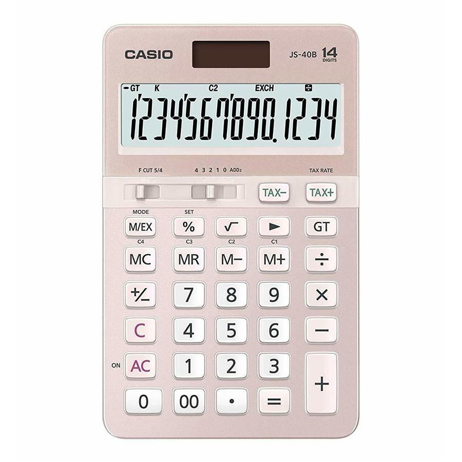 Máy Tính Để Bàn Casio JS-40B-PK - Hồng - 1288371 , 4477466828893 , 62_13379246 , 845000 , May-Tinh-De-Ban-Casio-JS-40B-PK-Hong-62_13379246 , tiki.vn , Máy Tính Để Bàn Casio JS-40B-PK - Hồng