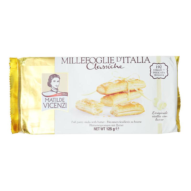 Bánh puff pastry que vị bơ Millefoglie D