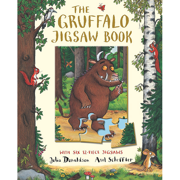 The Gruffalo Jigsaw Book - 970143 , 4096943881093 , 62_2363263 , 396000 , The-Gruffalo-Jigsaw-Book-62_2363263 , tiki.vn , The Gruffalo Jigsaw Book