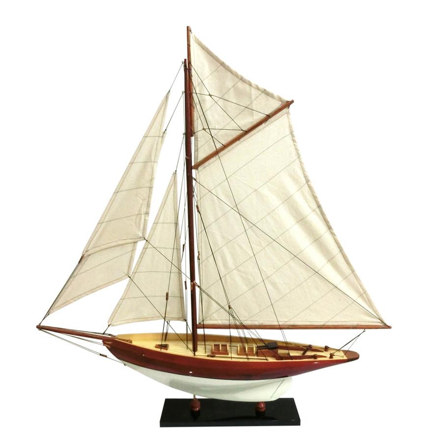 Mô hình du thuyền đua gỗ Penduick (thân 50cm - sơn trắng/gỗ) - 1250548 , 7460688834404 , 62_6416797 , 705000 , Mo-hinh-du-thuyen-dua-go-Penduick-than-50cm-son-trang-go-62_6416797 , tiki.vn , Mô hình du thuyền đua gỗ Penduick (thân 50cm - sơn trắng/gỗ)