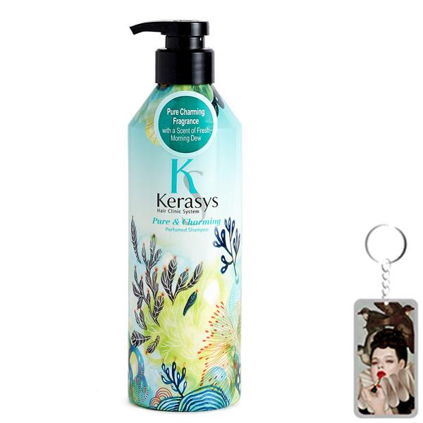 Dầu gội nước hoa Kerasys Pure  Charming hương quýt và hoa ly Hàn Quốc 600ml tặng kèm móc khoá - 9589616 , 6387908664546 , 62_16754894 , 380000 , Dau-goi-nuoc-hoa-Kerasys-Pure-Charming-huong-quyt-va-hoa-ly-Han-Quoc-600ml-tang-kem-moc-khoa-62_16754894 , tiki.vn , Dầu gội nước hoa Kerasys Pure  Charming hương quýt và hoa ly Hàn Quốc 600ml tặng kèm