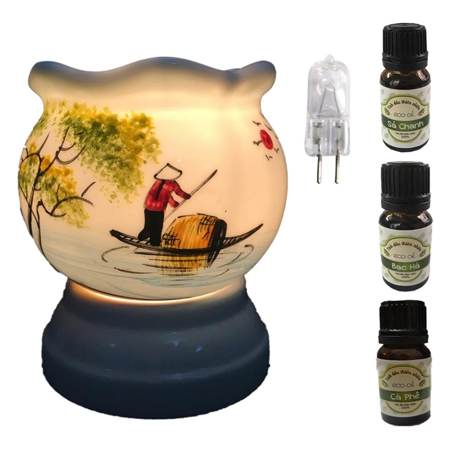 3 tinh dầu (Sả chanh, bạc hà, cà phê) Eco 10ml và đèn xông tinh dầu size L AH06 và 1 bóng đèn - 1080801 , 7196805671804 , 62_3765277 , 450000 , 3-tinh-dau-Sa-chanh-bac-ha-ca-phe-Eco-10ml-va-den-xong-tinh-dau-size-L-AH06-va-1-bong-den-62_3765277 , tiki.vn , 3 tinh dầu (Sả chanh, bạc hà, cà phê) Eco 10ml và đèn xông tinh dầu size L AH06 và 1 bóng