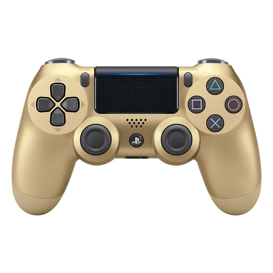 Tay Cầm PlayStation PS4 Sony Dualshock 4 (Màu Vàng) - Hàng Chính Hãng
