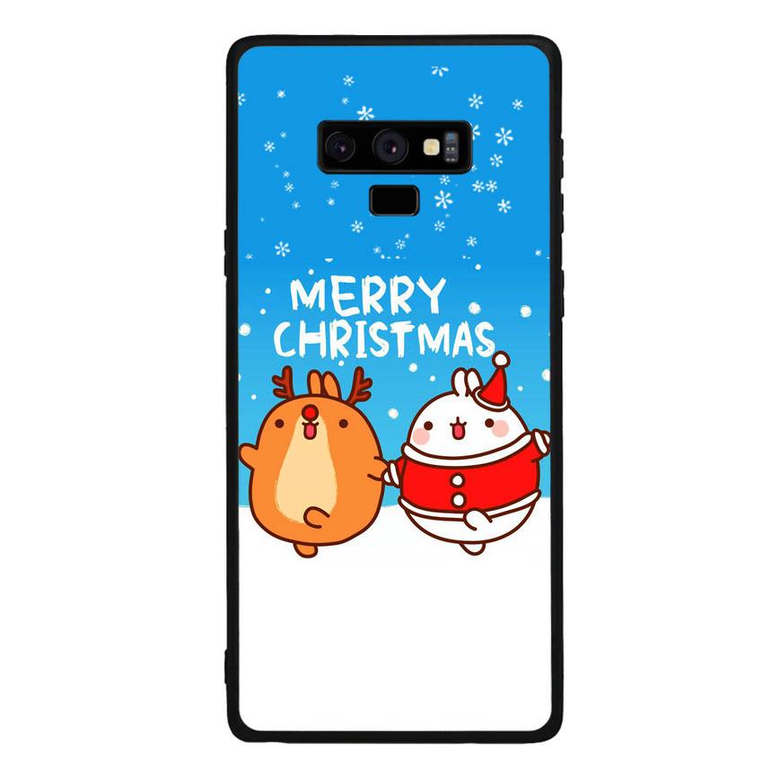 Ốp lưng viền TPU cho điện thoại Samsung Galaxy Note 9 - Christmas 02