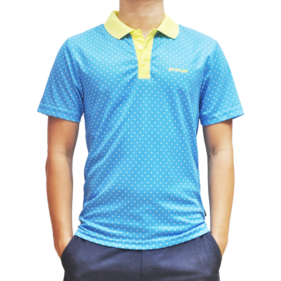 Áo Thể Thao Tennis Nam Dunlop DATEF7002-1C-BP - Xanh