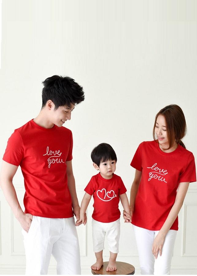 Combo 3 áo gia đình AG0599