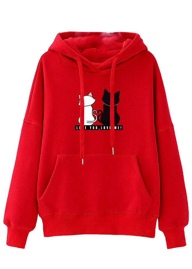 Áo khoác hoodie nữ tay dài hình thú siêu cá tính 147