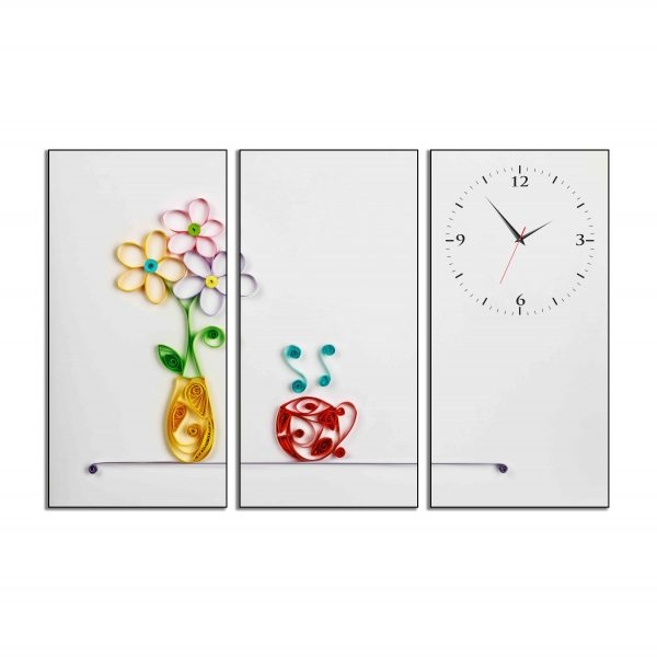 Tranh đồng hồ in Canvas Bên cửa sổ - 3 mảnh - 4762171 , 5378480017340 , 62_10350600 , 897500 , Tranh-dong-ho-in-Canvas-Ben-cua-so-3-manh-62_10350600 , tiki.vn , Tranh đồng hồ in Canvas Bên cửa sổ - 3 mảnh