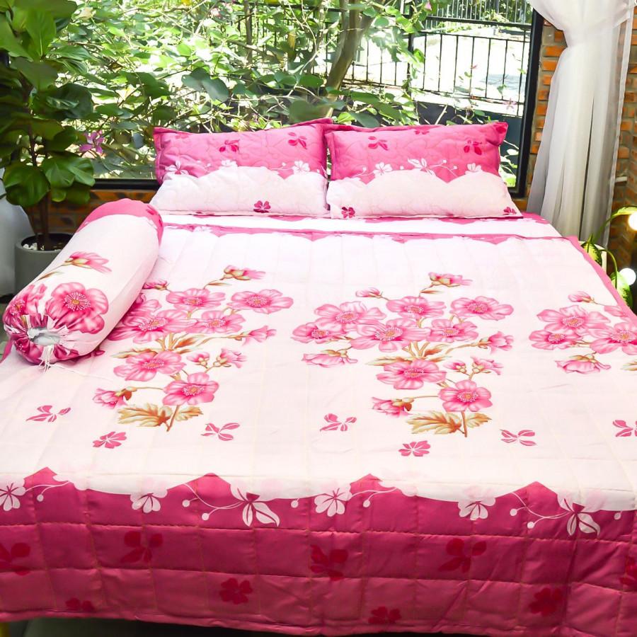 Bộ sản phẩm 5 món , đặc biệt chăn gối chần gòn vải cotton hoa P25 - 7316721 , 4354027355824 , 62_11030783 , 600000 , Bo-san-pham-5-mon-dac-biet-chan-goi-chan-gon-vai-cotton-hoa-P25-62_11030783 , tiki.vn , Bộ sản phẩm 5 món , đặc biệt chăn gối chần gòn vải cotton hoa P25