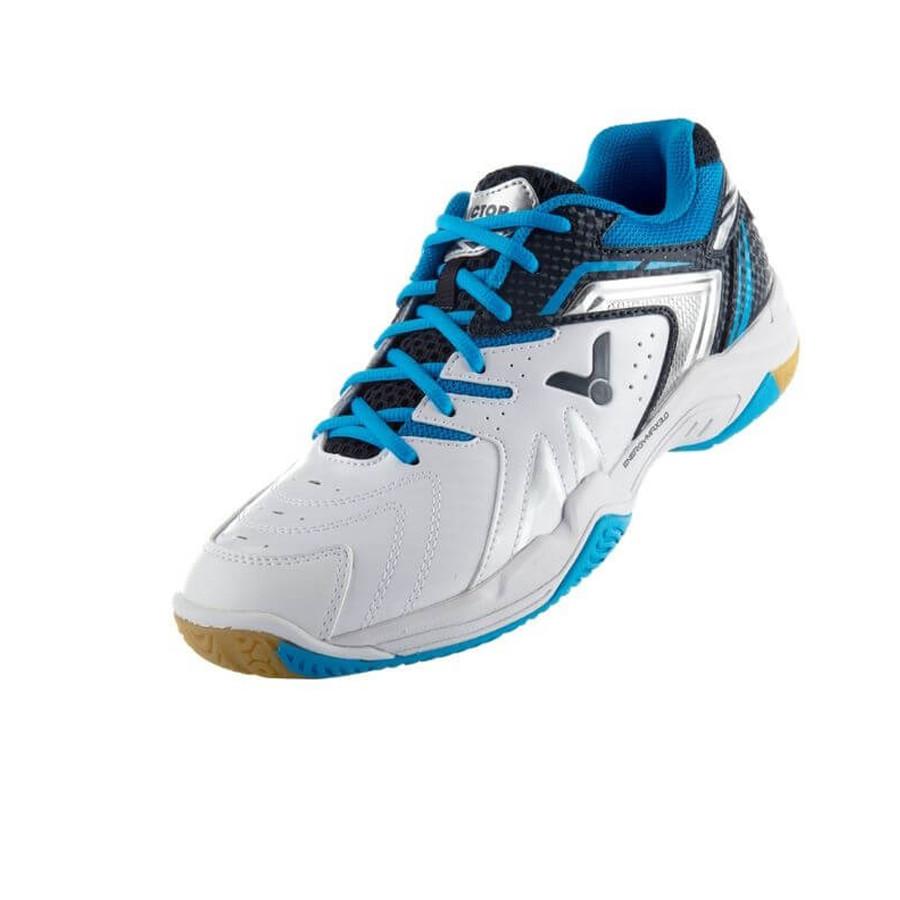 Giày cầu lông Victor đẳng cấp 610-AH - màu trắng viền xanh - 7640326 , 2217188232644 , 62_13140326 , 1899000 , Giay-cau-long-Victor-dang-cap-610-AH-mau-trang-vien-xanh-62_13140326 , tiki.vn , Giày cầu lông Victor đẳng cấp 610-AH - màu trắng viền xanh