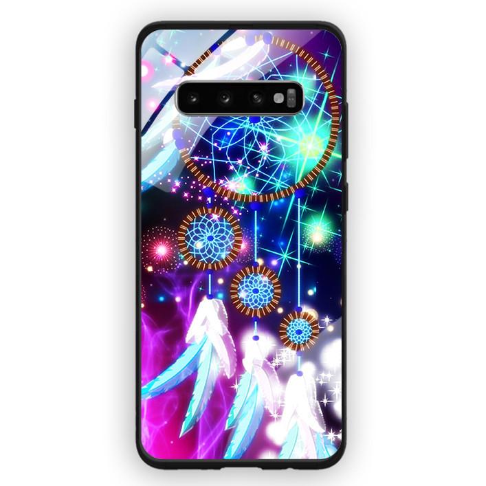 Ốp Lưng Kính Cường Lực Cho Điện Thoại Samsung Galaxy S10 Plus - 391 0096 DREAMCATCHER09 - Hàng Chính Hãng