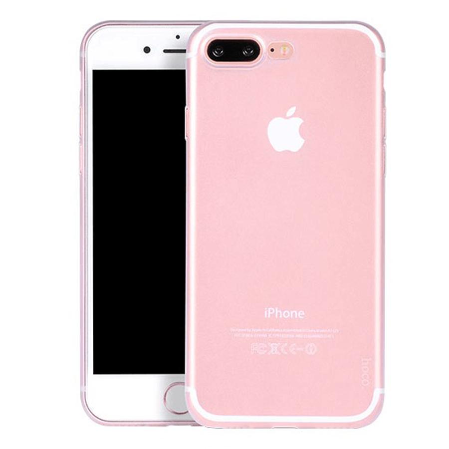 Ốp Lưng Dẻo iPhone 8 Plus Hoco HOCOIP8P-CLR (Trong Suốt) - Hàng Nhập Khẩu