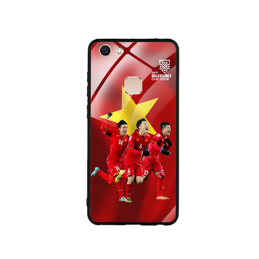 Ốp Lưng Kính Cường Lực cho điện thoại Vivo V7 - AFF Cup 01
