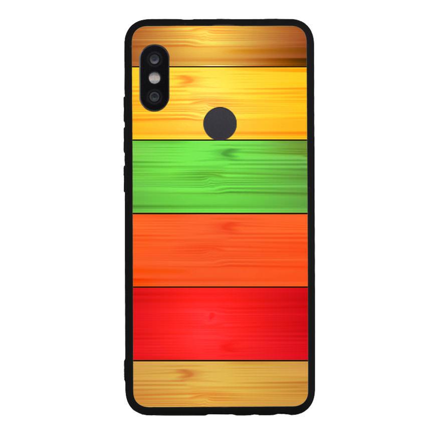 Ốp lưng nhựa cứng viền dẻo TPU cho điện thoại Xiaomi Redmi Note 5 Pro - Sắc Màu