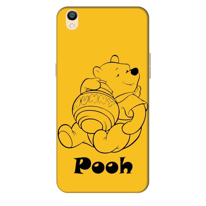 Ốp lưng nhựa cứng nhám dành cho Oppo R9 Plus in hình Pooh