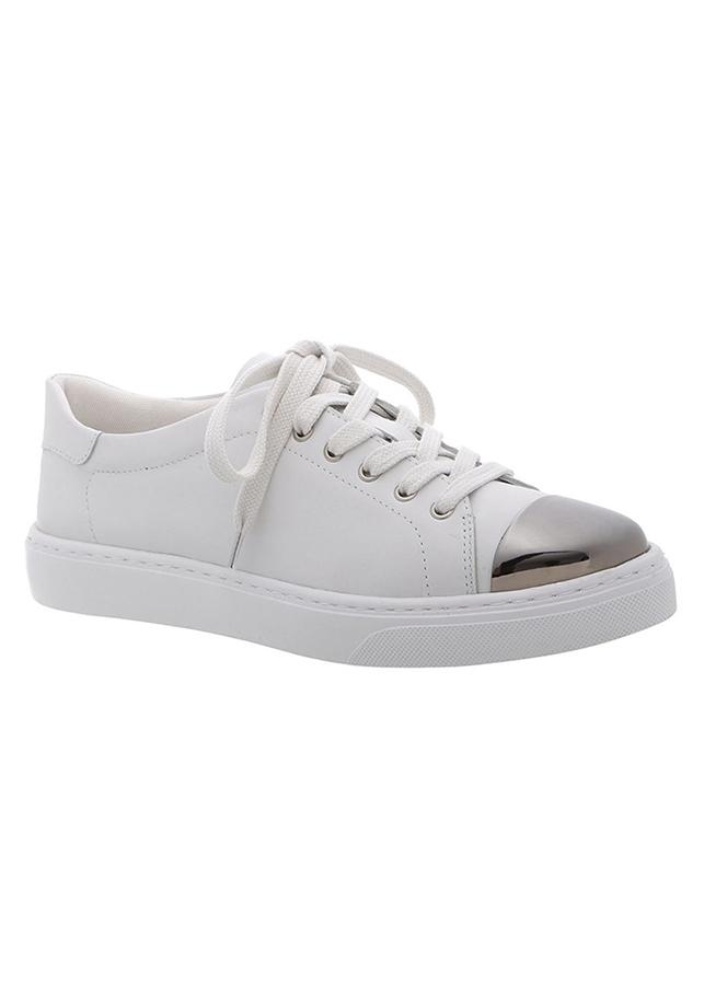 Giày Sneaker Nữ Arezzo A10052 - 0030 / 0008u - Nappa Tenis - White Blanc