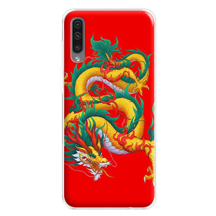 Ốp lưng dẻo cho điện thoại Samsung Galaxy A50 - 224 0093 DRAGON09